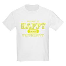 Happy University Kids T-Shirt