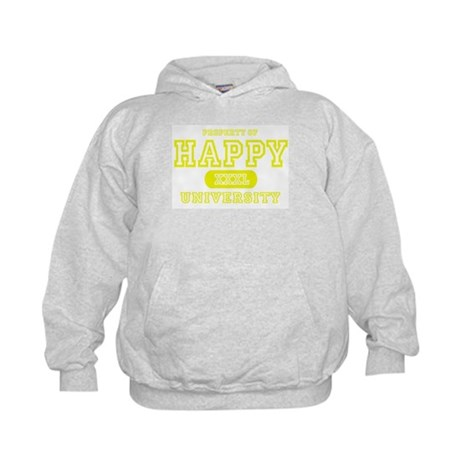 Happy University Kids Hoodie