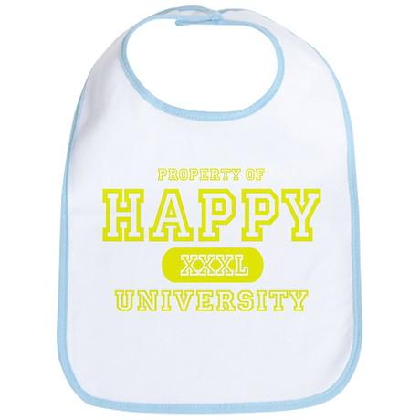 Happy University Bib