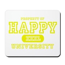 Happy University Mousepad