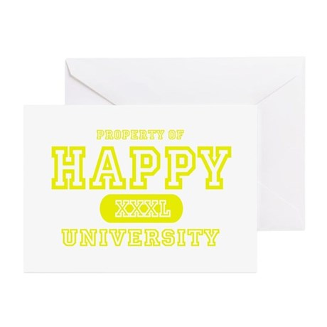 Happy University Greeting Cards (Pk of 10)