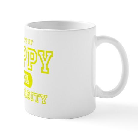 Happy University Mug