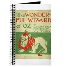 Vintage Wizard Of Oz Book Cover Journal