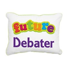 Future Debater Rectangular Canvas Pillow