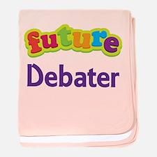 Future Debater baby blanket