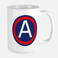 Third Army logo Large Mug
