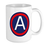 3rd army Large Mugs (15 oz)