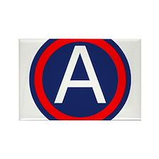 Third Army logo Rectangle Magnet