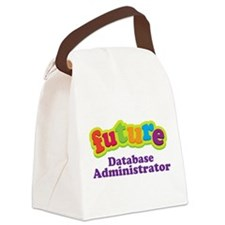 Future Database Administrator Canvas Lunch Bag
