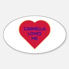 Carmella Loves Me Decal