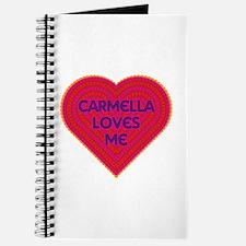 Carmella Loves Me Journal