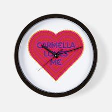 Carmella Loves Me Wall Clock