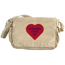 Casandra Loves Me Messenger Bag