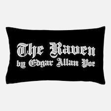 The Raven by Edgar Allan Poe - White Pillow Case
