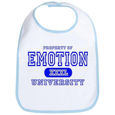 Emotion University Bib