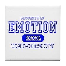 Emotion University Tile Coaster