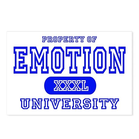 Emotion University Postcards (Package of 8)
