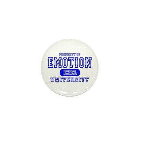 Emotion University Mini Button