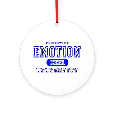 Emotion University Ornament (Round)