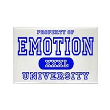 Emotion University Rectangle Magnet (10 pack)
