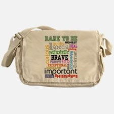 Dare to Be - Messenger Bag