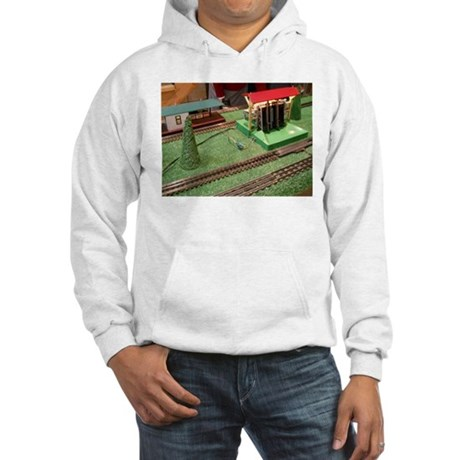 Log Logger For Trains Hoodie