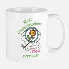 Real Cross Stitchers Mug
