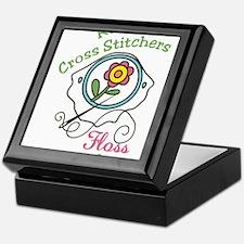 Real Cross Stitchers Keepsake Box