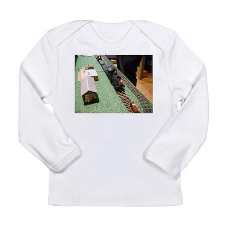 Unloaded Lumber Train Long Sleeve T-Shirt