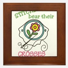 Stitchers Framed Tile