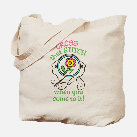 That Stitch Tote Bag