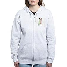 Unique Seamstress Zip Hoodie