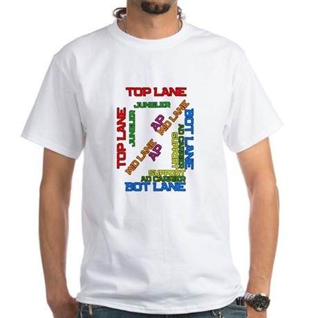 All lanes positions T-Shirt