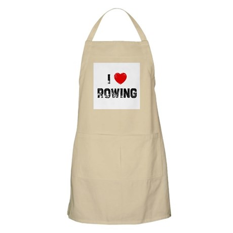 I * Rowing BBQ Apron