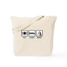 Eat, Sleep, Write Tote Bag