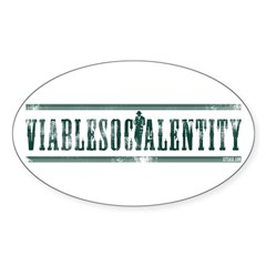 Viable Social Entity Oval Decal