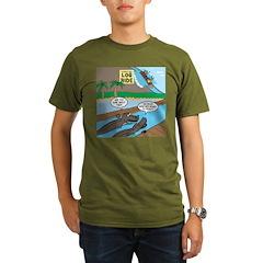 Alligator Hunting Organic Men's T-Shirt (dark)