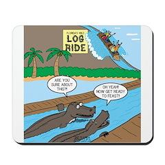 Alligator Hunting Mousepad