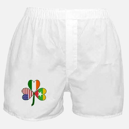 Shamrock of Burma or Myanmar Boxer Shorts