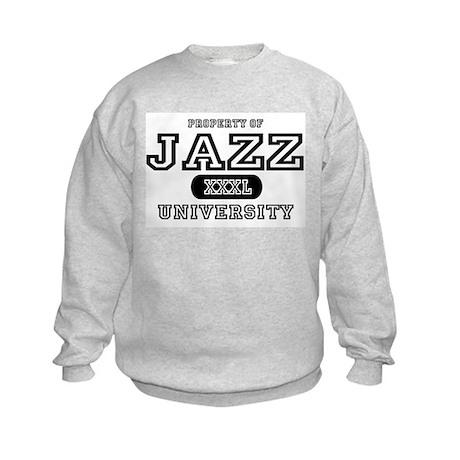 Jazz University Kids Sweatshirt