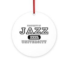 Jazz University Ornament (Round)