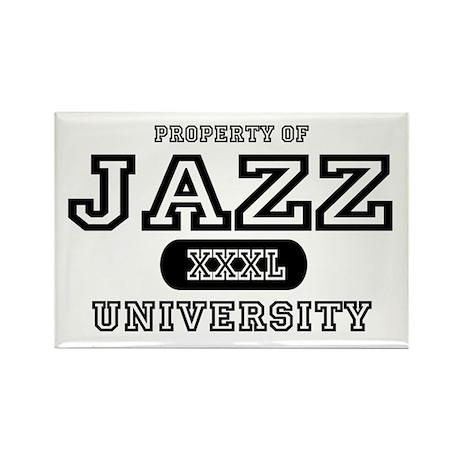 Jazz University Rectangle Magnet (10 pack)