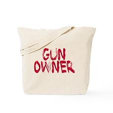 Woman Gun Owner Tote Bag