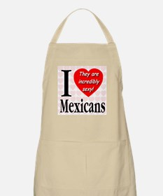 I Love Mexicans: They Are Inc BBQ Apron