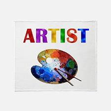 Artist Throw Blanket