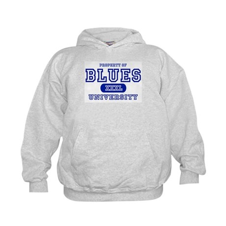 Blues University Kids Hoodie