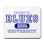 Blues University Mousepad