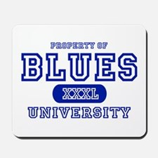 Blues University Mousepad