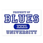 Blues University Postcards (Package of 8)