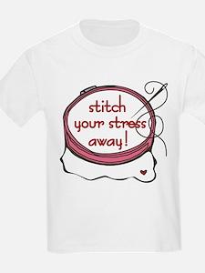 Stitch Your Stress Away T-Shirt